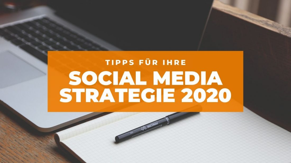 Social Media Strategie 2020