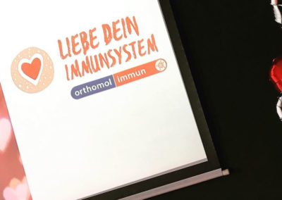 Liebe Dein Immunsystem Presse-Dinner Orthomol Immun